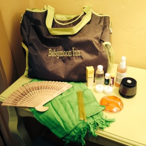 The Babymoon Inn Doulas travel with their own bag of tricks to help you labor at home, the birth center, or the hospital.